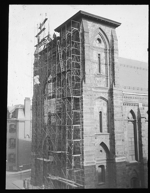 St. Mary's Church Under Repair