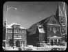 Snow on St. Catherine of Siena and Rectory in 1925.